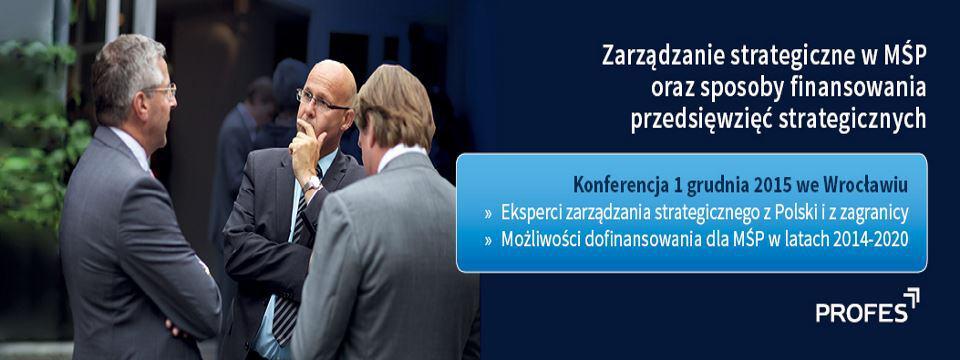 Firmy zarządzane strategicznie rzadziej upadają – konferencja finansowana z UE
