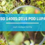 Przegląd normy ISO 14001:2015 – czyli standard pod lupą